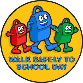 Walk Safely to School Day Logo